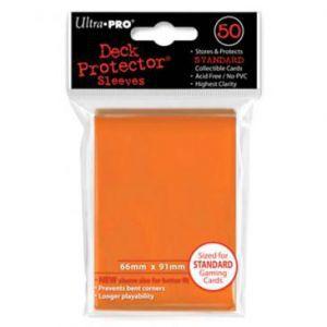Protèges Cartes Accessoires Pour Cartes 50 pochettes Ultra Pro - Orange - ACC