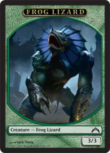 Tokens Magic Magic the Gathering Token/Jeton - Insurrection - Grenouille et Lézard
