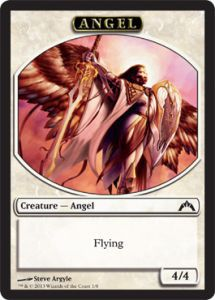 Tokens Magic Magic the Gathering Token/Jeton - insurrection - Ange