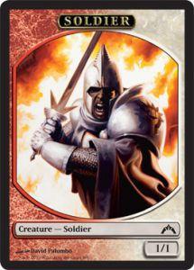 Tokens Magic Accessoires Pour Cartes Token/Jeton - Insurrection - Soldat