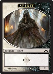 Token Magic Magic the Gathering Token/Jeton - Insurrection - Esprit