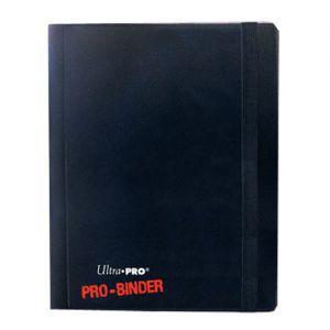 Classeurs et Portfolios Accessoires Pour Cartes Portfolio Pro Binder 20 pages de 4 cases - Noir