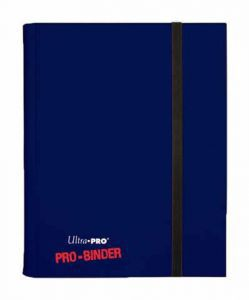 Classeurs et Portfolios Accessoires Pour Cartes Portfolio Ultra Pro - A4 Classeur Pro-Binder - Bleu Foncé
