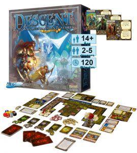 Descent Jeux de Plateau Descent - Jeux De Base - Voyage Dans Les Ténèbres