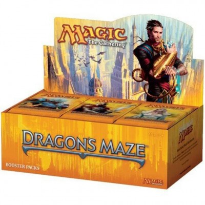 Boite de Boosters Magic the Gathering Dragon's Maze - 36 Draft Boosters
