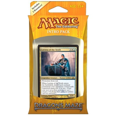 Decks Magic the Gathering Dragon's Maze - Blanc/Bleu - Intro Pack Deck - Azorius Authority
