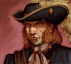 Pirates of the Crimson Coast Pirates 129 - Captain (Treasure) - Pirates of the Crimson Coast