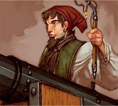 Pirates of the Crimson Coast Pirates 113 - Chainshot Specialist (Treasure) - Pirates of the Crimson Coast