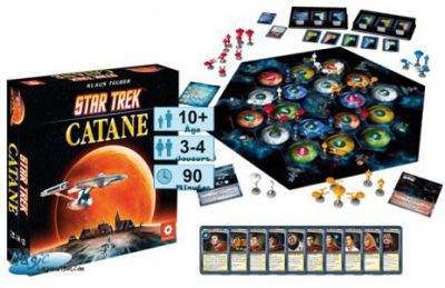 Catane Jeux de Plateau Star Trek Catane