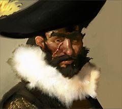 Pirates of the Crimson Coast Pirates 059 - El Duque Rafael de Moreno y Rivera (Crew) - Pirates of the Crimson Coast