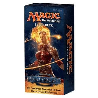 Decks d'Evénement & Commander & Duel Decks Magic the Gathering Magic 2014 - Event Deck : Rush of the Wild - Rouge/Vert