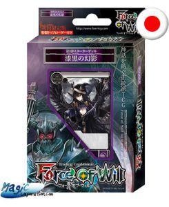 Starters Force of Will Force of Will Starter Deck - Tenebres - Jet Black Phantom (EN JAPONAIS)