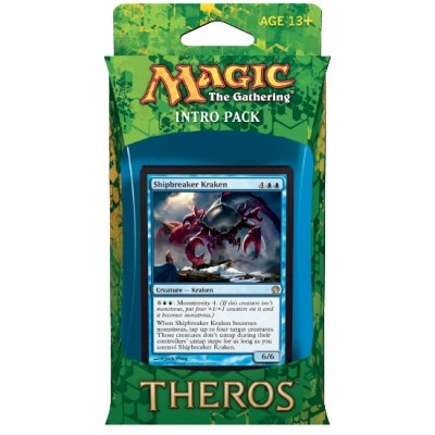 Decks Préconstruits Magic the Gathering Theros - Bleu/Rouge - Intro Pack Deck - Monstruosités manipulatrices
