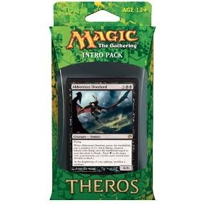 Decks Magic the Gathering Theros - Noir/Bleu - Intro Pack Deck - Dévotion aux ténèbres