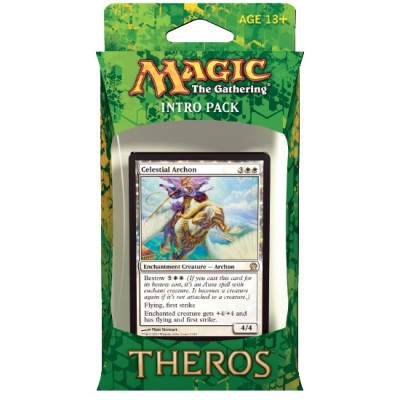 Decks Magic the Gathering Theros - Blanc/Noir - Intro Pack Deck - Faveurs de Nyx