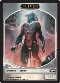 Tokens Magic Magic the Gathering Token/Jeton - Magic 2014 - 01/13 Slivoïde
