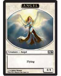 Tokens Magic Magic the Gathering Token/Jeton - Magic 2014 - 02/13 Ange