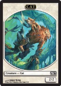Tokens Magic Magic the Gathering Token/Jeton - Magic 2014 - 03/13 Chat