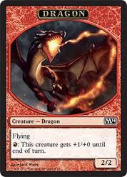 Tokens Magic Token/Jeton - Magic 2014 - 06/13 Dragon