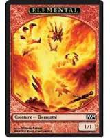 Tokens Magic Magic the Gathering Token/Jeton - Magic 2014 - 08/13 Elemental