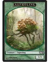 Token Magic Magic the Gathering Token/Jeton - Magic 2014 - 10/13 Saprobionte