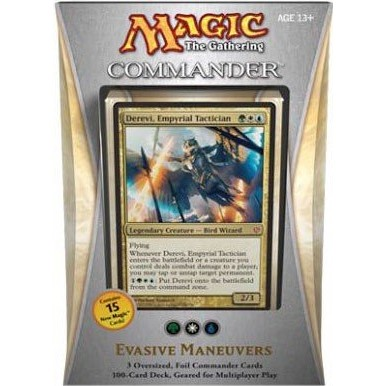 Decks d'Evénement & Commander & Duel Decks Magic the Gathering Deck Commander 2013 - Blanc/Bleu/Vert - Evasive Maneuvers