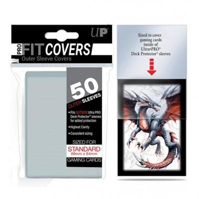 Protèges Cartes  50 Sur Pochettes - Covers - Clear