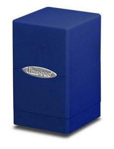 Boites de Rangements Accessoires Pour Cartes Deck Box Ultra Pro - [Satin Tower] - Bleu - ACC