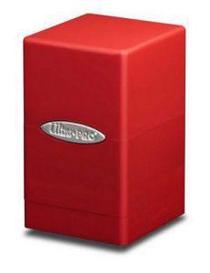 Boites de Rangements Accessoires Pour Cartes Satin Tower - Rouge