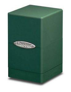 Boites de Rangements Accessoires Pour Cartes Deck Box Ultra Pro - [Satin Tower] - Vert - ACC