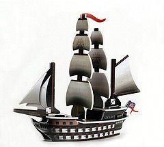 Pirates of the Crimson Coast Pirates 033 - HMS Viceroy (Ship) - Pirates of the Crimson Coast