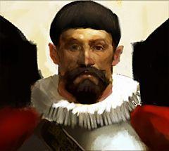 Pirates of the Crimson Coast Pirates 061 - Inquisitor Sebastián Blanco (Crew) - Pirates of the Crimson Coast