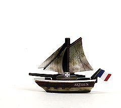 Pirates of the Crimson Coast 081 - L'Artesien (Ship) - Pirates of the Crimson Coast