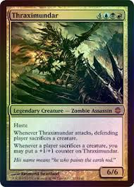 Grandes Cartes Oversized Magic the Gathering Oversized - Thraximundar