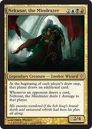 Grandes Cartes Oversized Magic the Gathering Oversized - Nekusar, Le Terrasseur D'esprit