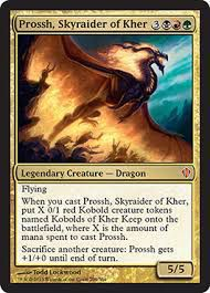 Grandes Cartes Oversized Magic the Gathering Oversized - Prossh, pillard céleste de Kher