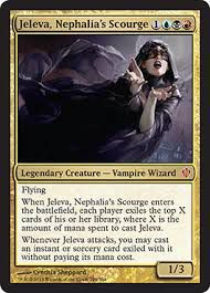 Grandes Cartes Oversized Magic the Gathering Oversized - Jeleva, plaie de la Néphalie
