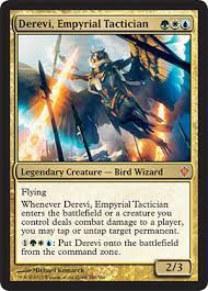 Grandes Cartes Oversized Magic the Gathering Oversized - Derevii, tacticienne de l'empyrée