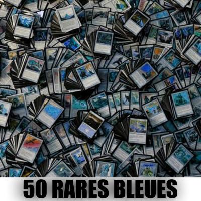 Lot de Cartes Lot de 50 rares bleues (lot A)