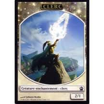 Tokens Magic Magic the Gathering Token/Jeton - Theros - 01/11 Clerc
