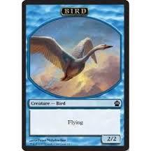 Tokens Magic Accessoires Pour Cartes Token/Jeton - Theros - Oiseau