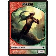 Token Magic Magic the Gathering Token/Jeton - Theros - 09/11 Satyre