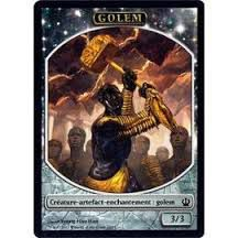 Tokens Magic Magic the Gathering Token/Jeton - Theros - 10/11 Golem