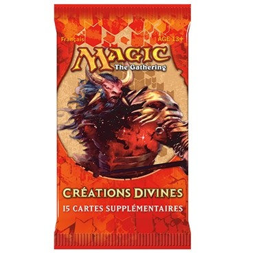 Boosters Magic the Gathering Créations Divines