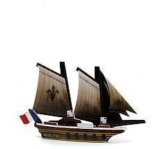 Pirates of the Crimson Coast 080 - Le Mercure (Ship) - Pirates of the Crimson Coast