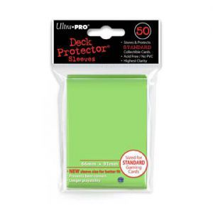 Protèges Cartes 50 pochettes - Deck Protector - Vert clair