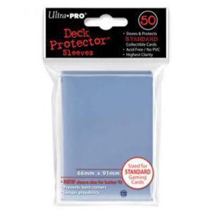 Protèges Cartes Accessoires Pour Cartes 50 pochettes - Deck Protector - Transparent