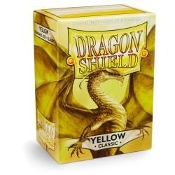 Protèges Cartes Accessoires Pour Cartes 100 pochettes Dragon Shield - Yellow (jaune) - ACC