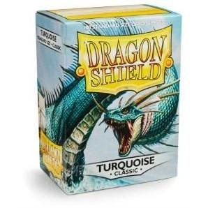 Protèges Cartes Accessoires Pour Cartes 100 pochettes Dragon Shield - Turquoise - ACC