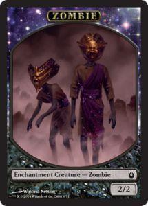 Tokens Magic Accessoires Pour Cartes Token/Jeton - Créations Divines - Zombie